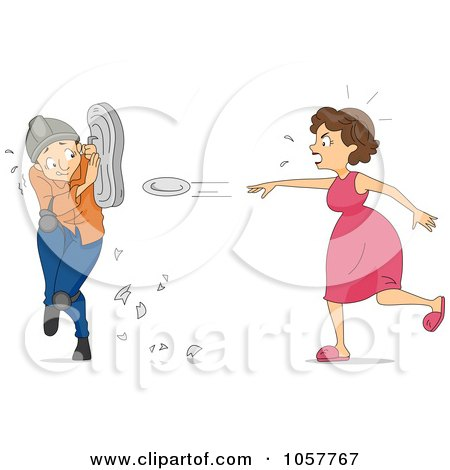 1057767-Royalty-Free-Vector-Clip-Art-Illustration-Of-A-Mad-Woman-Throwing-Plates.jpg