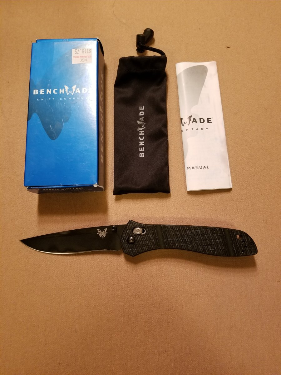 """My """"first production"""" Benchmade knife"""