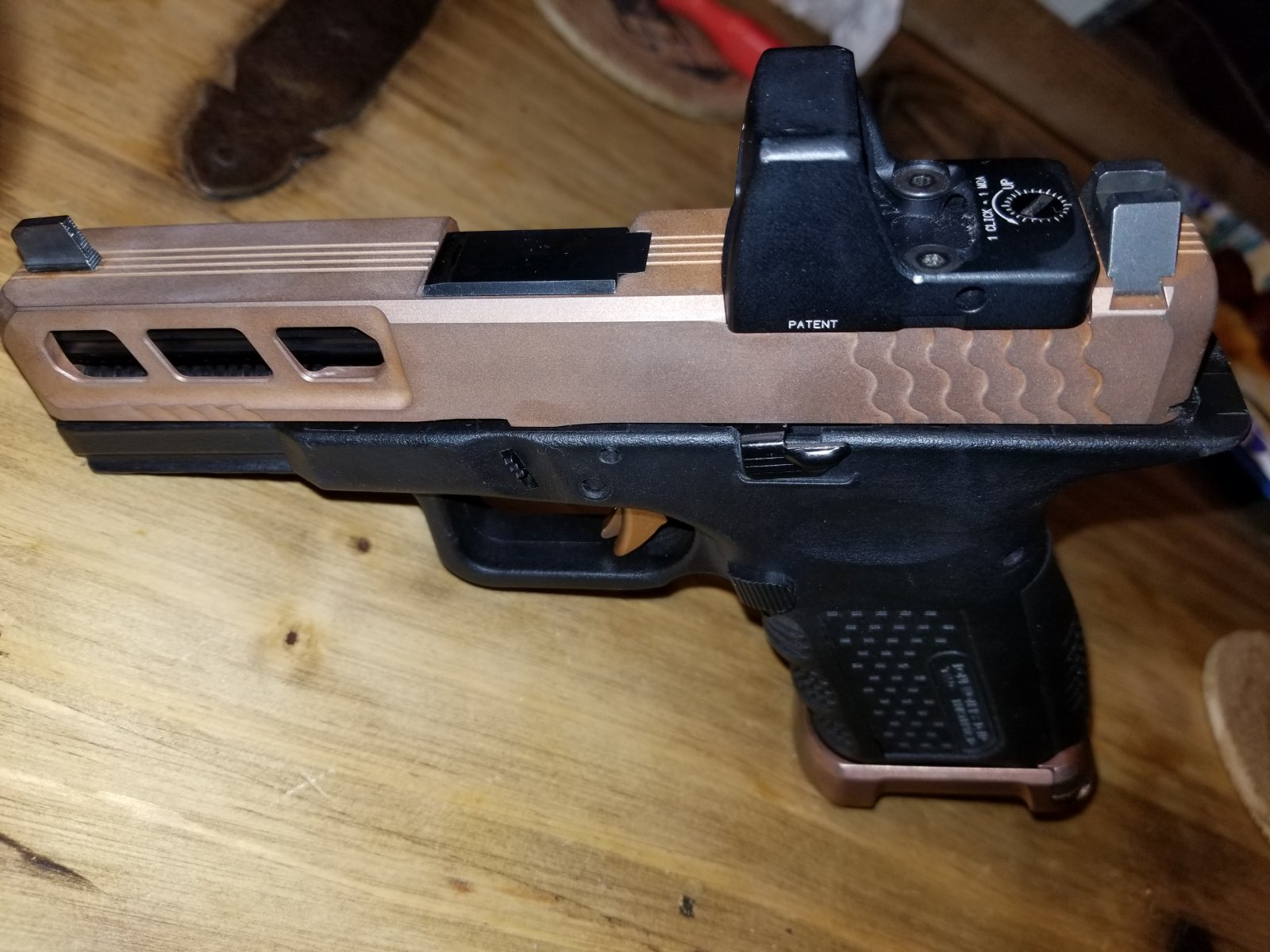 Lone Wolf Dist Signature Series 19 PVD coated  Issues with PVD