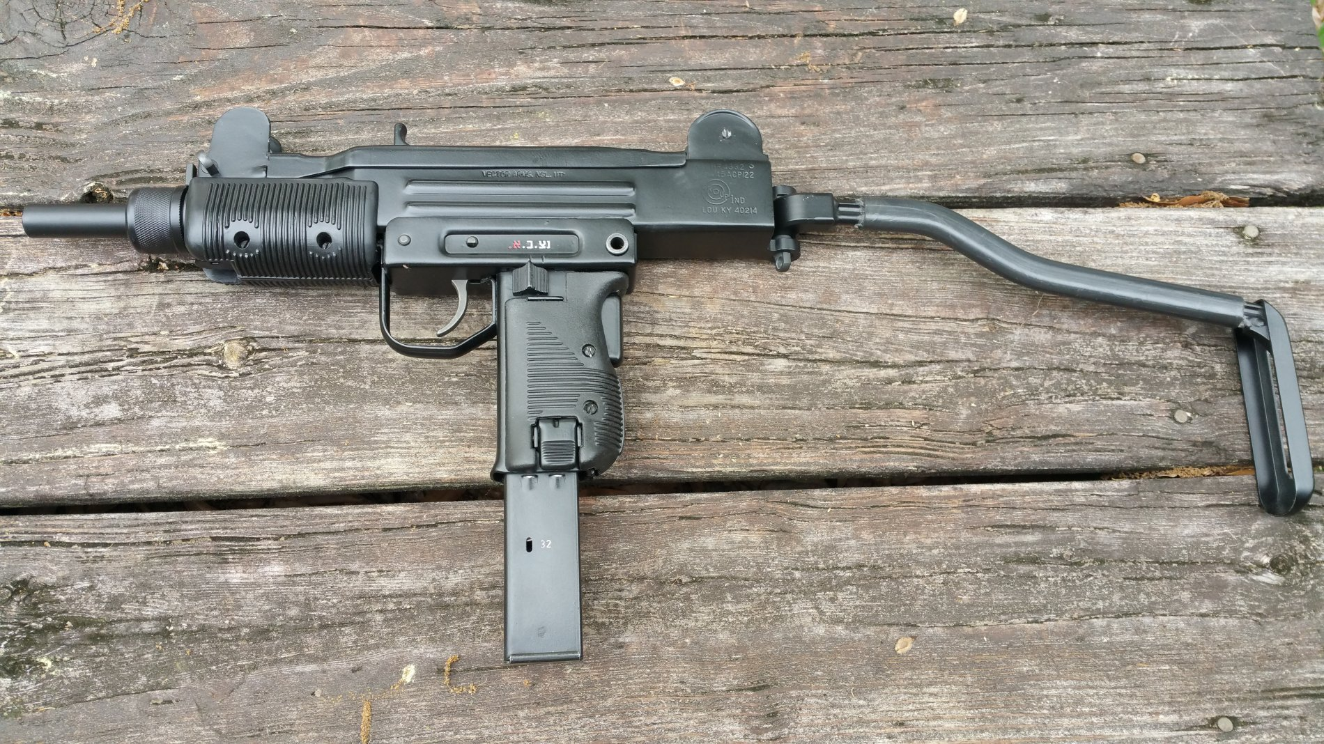 Brief review on the IWI Uzi Pro