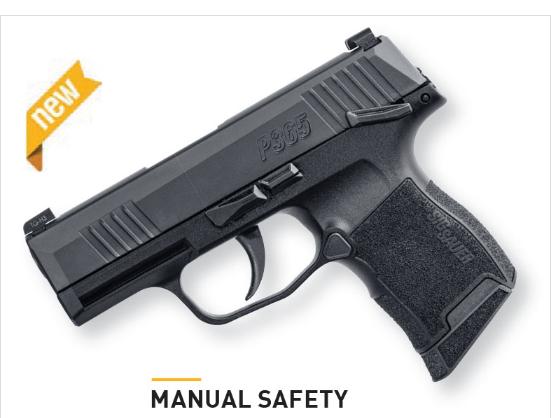 SIG P365 W/Manual Safety