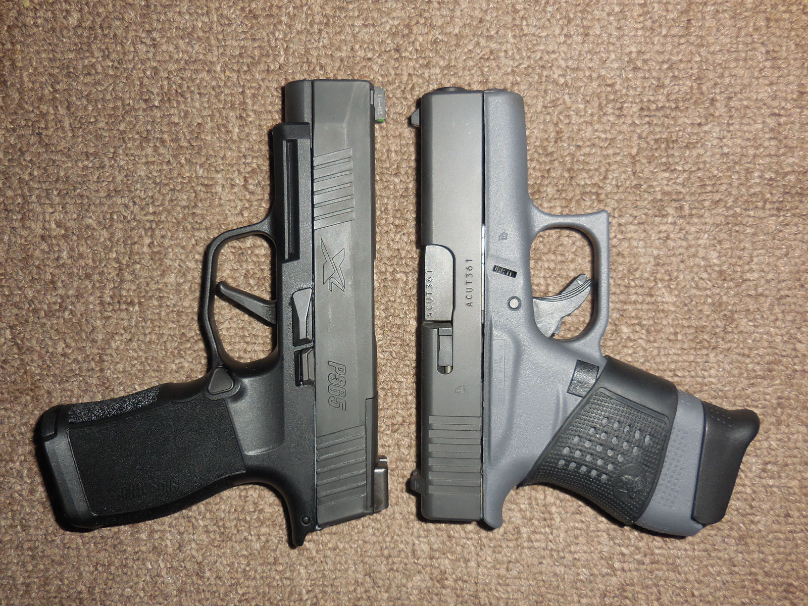 Picked up a Sig P365 XL today | The Leading Glock Forum and