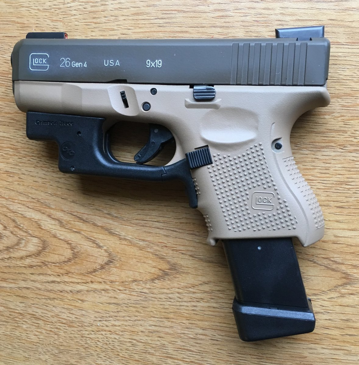Frame Color Timeline And Rarity | The Leading Glock Forum and