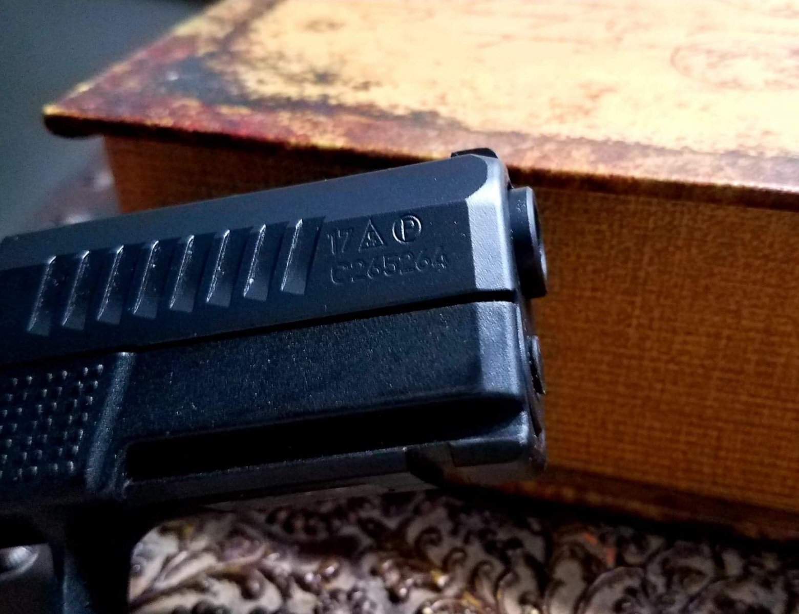 CZ P10C is this normal? Guide rod protruding | The Leading Glock