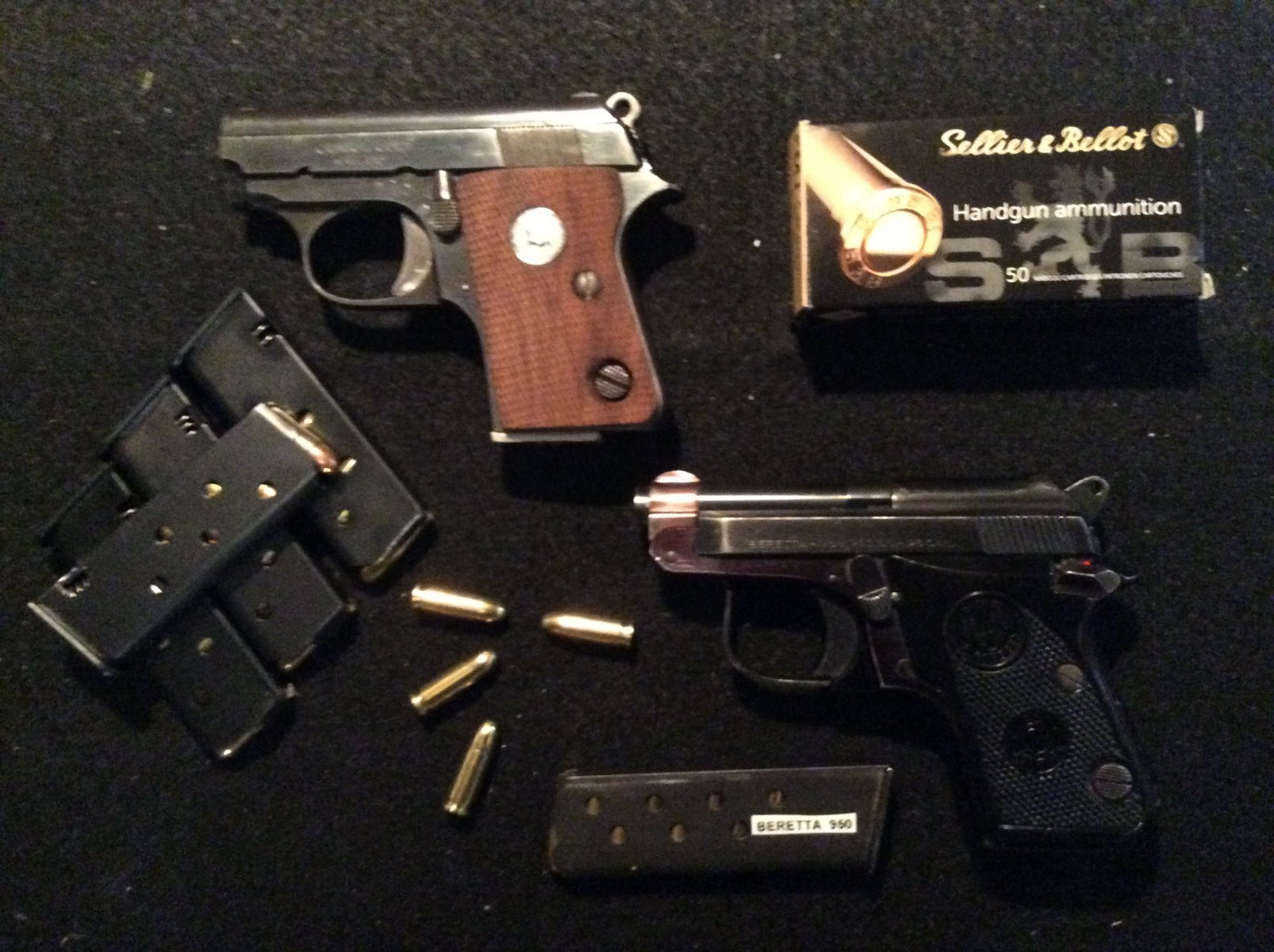 Who else has a 25 ACP gun in their collection?
