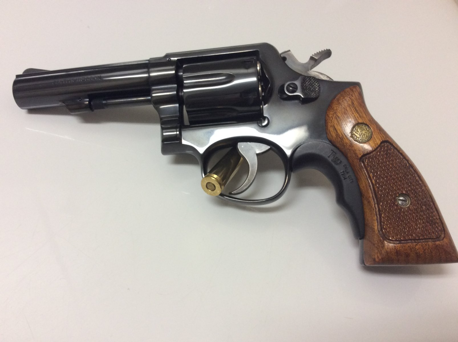Gun When You're Old- Revolver?