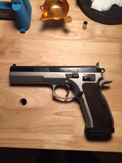 Tanfoglio pistol fans?