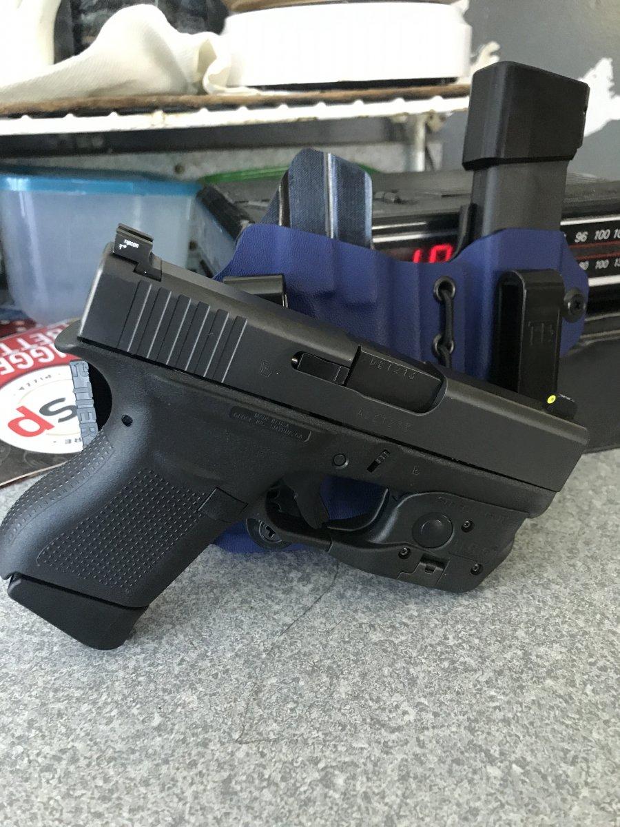 Glock 43 add-ons