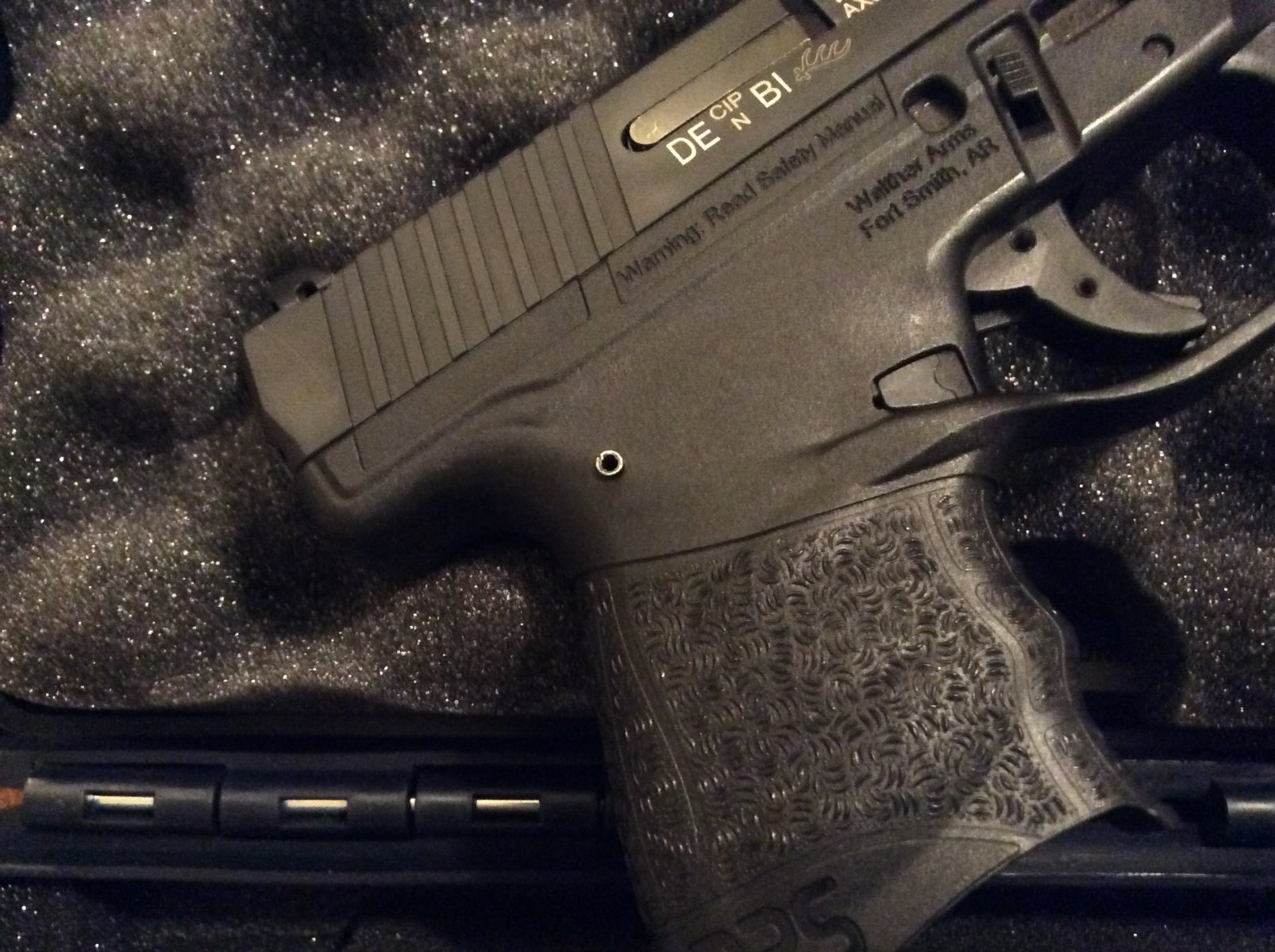 Walther - PPS M2 pin coming out?   The Leading Glock Forum