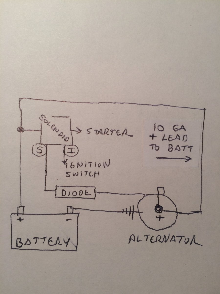 Hotrod Wiring Need Help With An Overcharging Problem The Leading Hot Rod Diagram