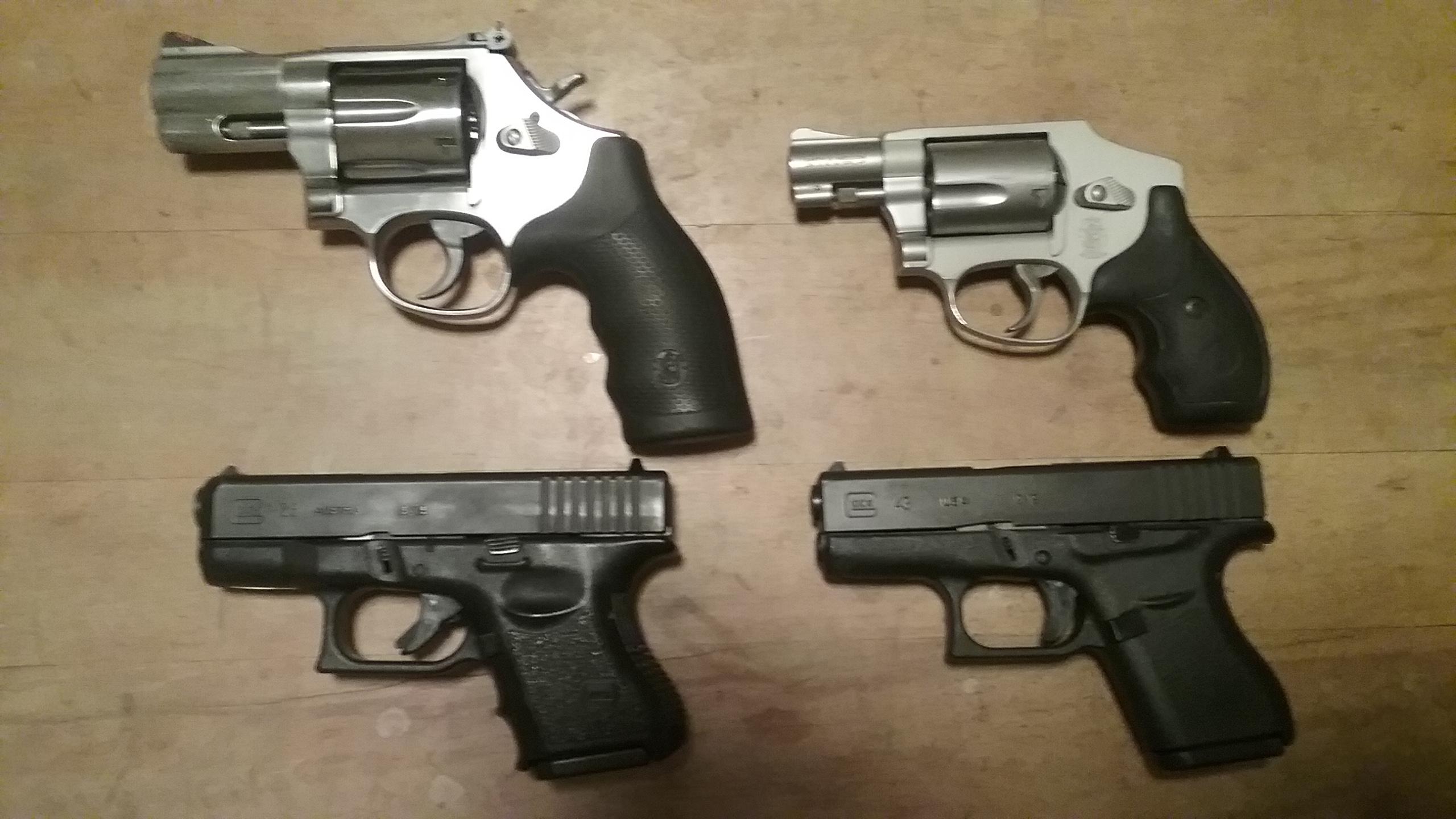 Semi-auto vs Revolver, Especially as a Carry Gun Choice | The ...