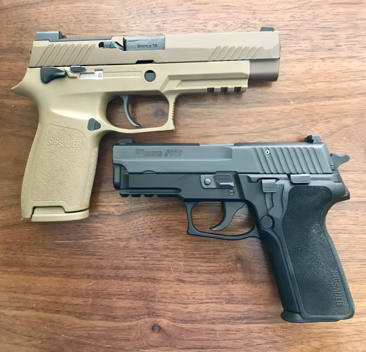 Sig M17 - $180 to the military, $1122 for you