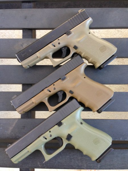 Are FDE Factory Frame Pistols Still Being Manufactured? OD Green?