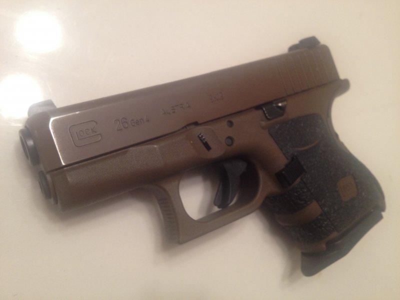 Glock 26 Burnt Bronze Cerakote Question The Leading Glock Forum