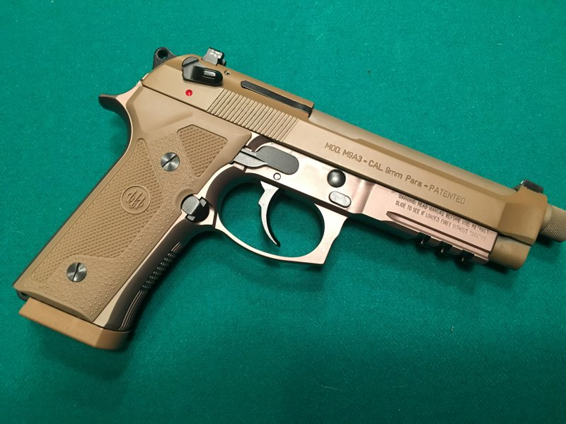 New gun day: Beretta M9A3