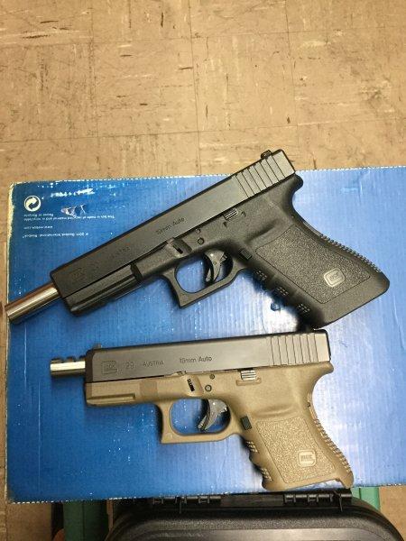 Glock 20 - No more 9x25 extended barrels?