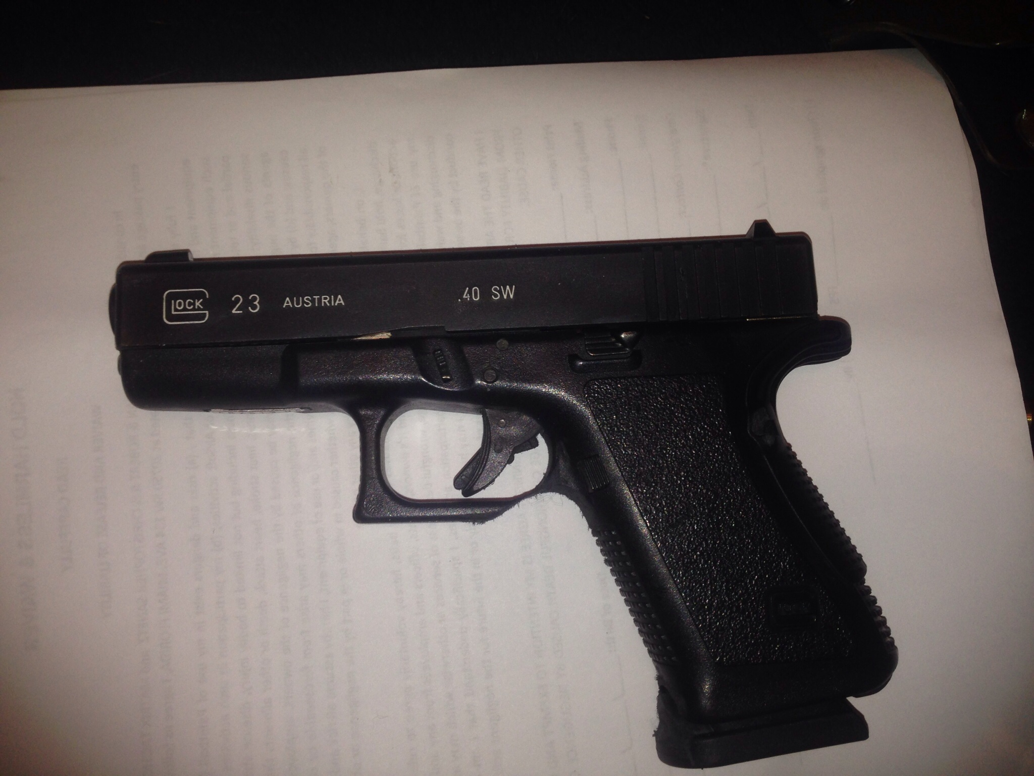 Replacement frame from Glock? | The Leading Glock Forum and ...
