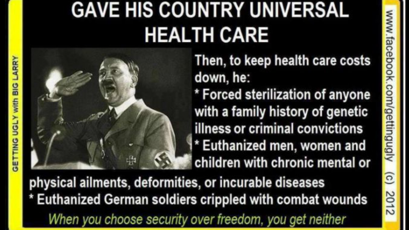 universal health care is socialism Charging that democrats' health care proposals would lead to socialized medicine, republican presidential candidate rudy giuliani said tuesday he wants to give american citizens more control over their health care.