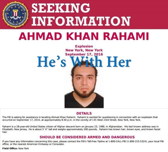Most wanted man in USA - bombing suspect identified