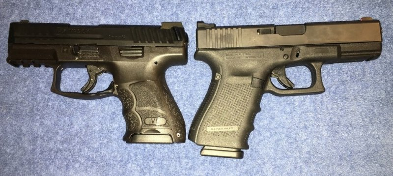 New HK VP9SK vs Glock Sub-compact and Compact pistols | The