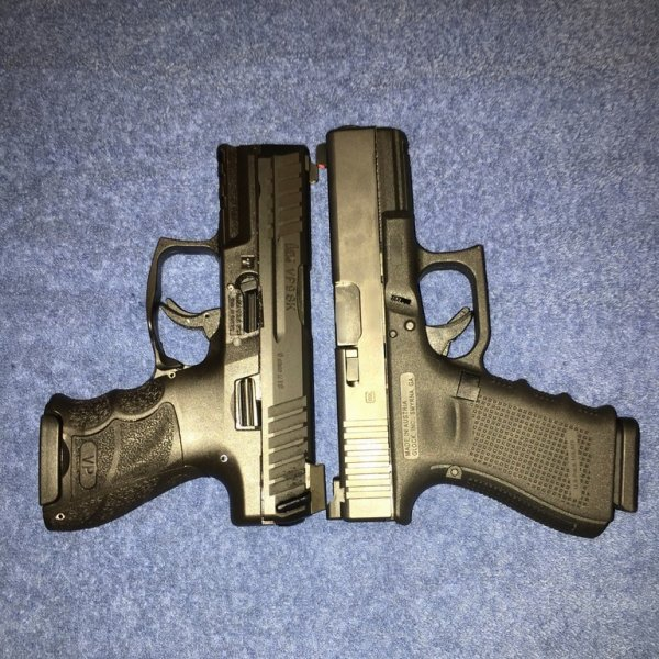 New HK VP9SK vs Glock Sub-compact and Compact pistols | The Leading