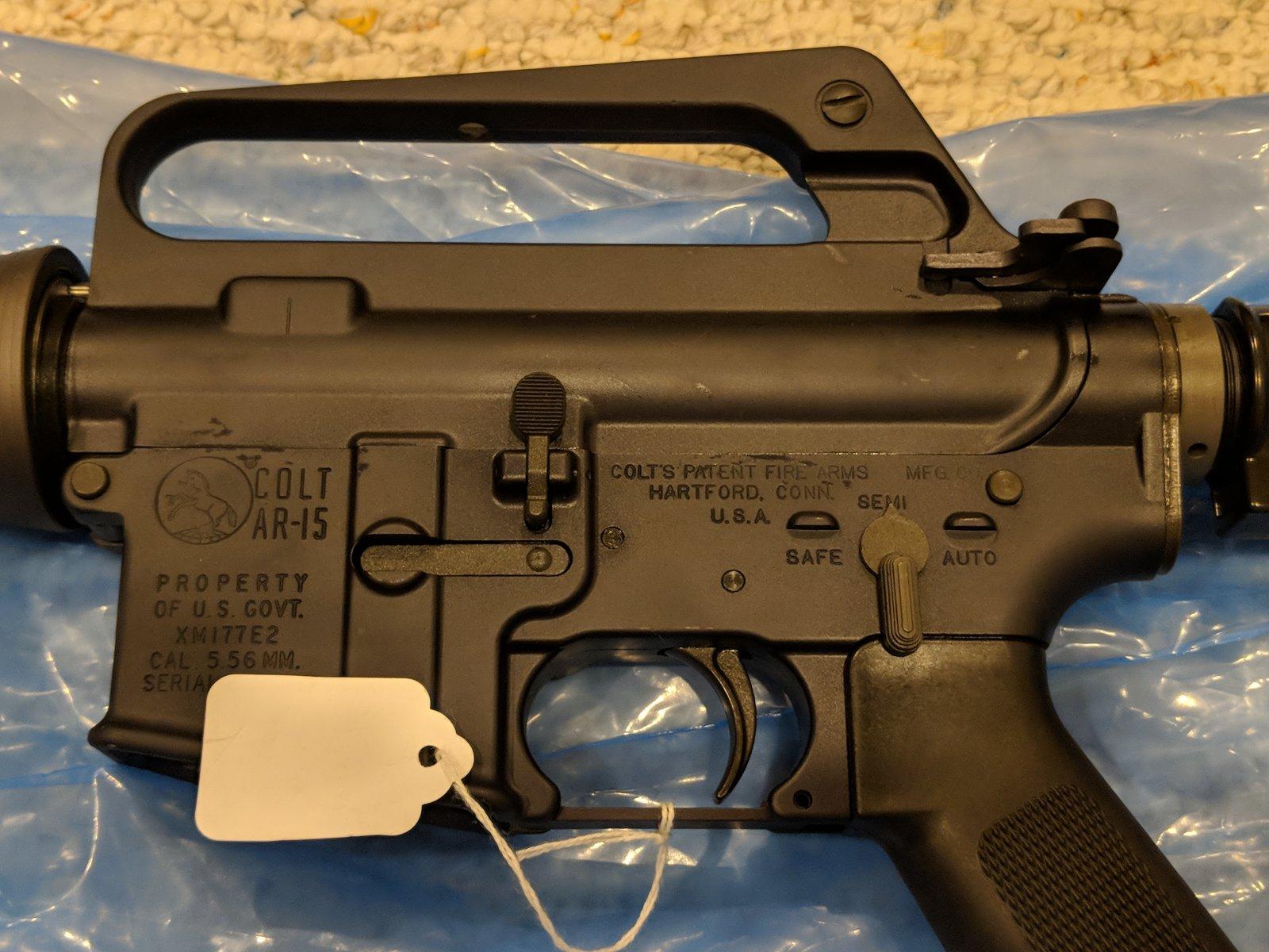 Colt XM177E2 re-issue