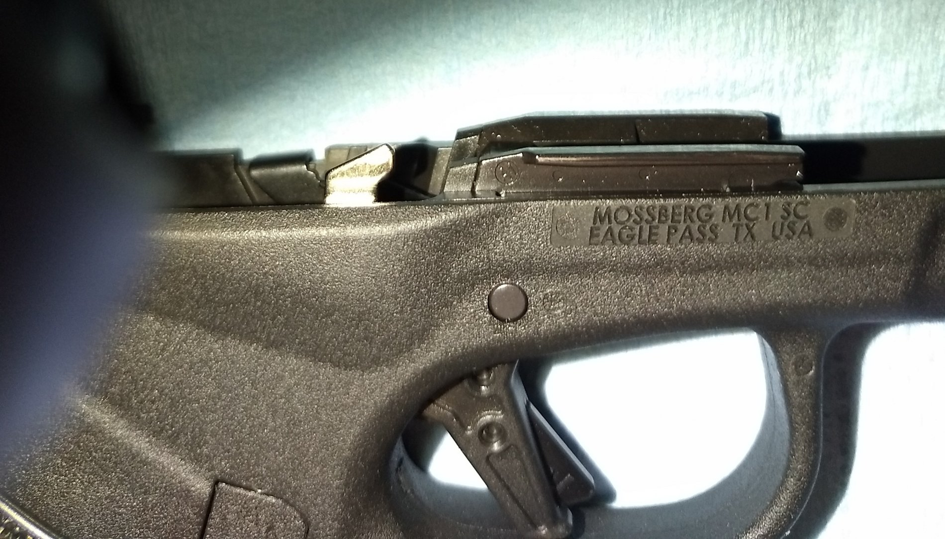 more on the Mossberg MC1sc