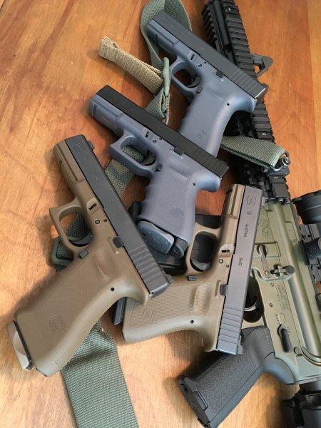 Colored Glocks?