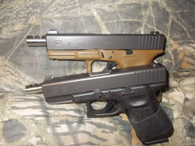 Lone wolf glock 19 ported barrel