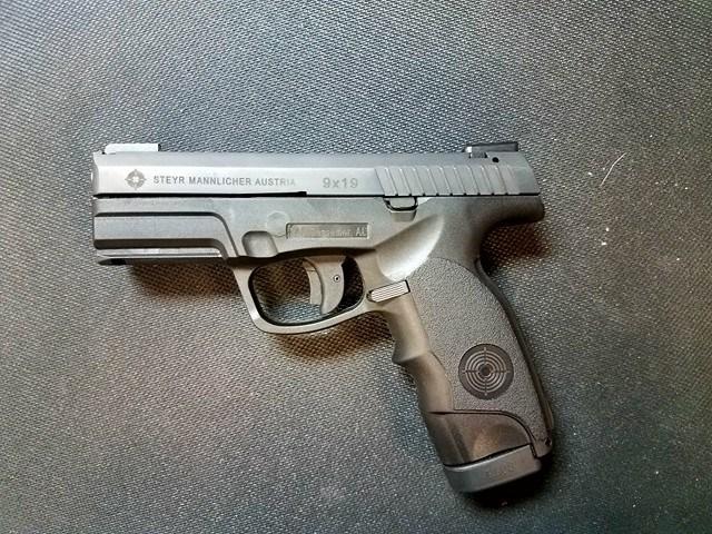 Put money down on a Steyr M9A1