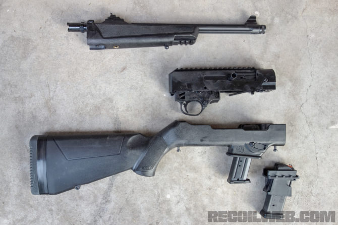 Leaked Pics of New Ruger Takedown 9mm Carbine