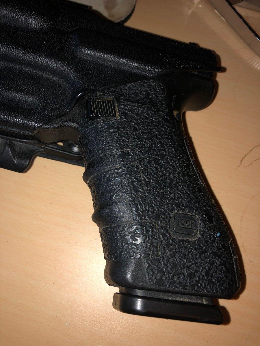 Best Glock grip for sweaty hands?