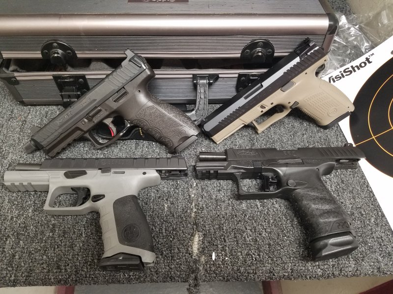 Range Day CZ P10c vs Walther PPQm2 vs Beretta APX vs HK VP9