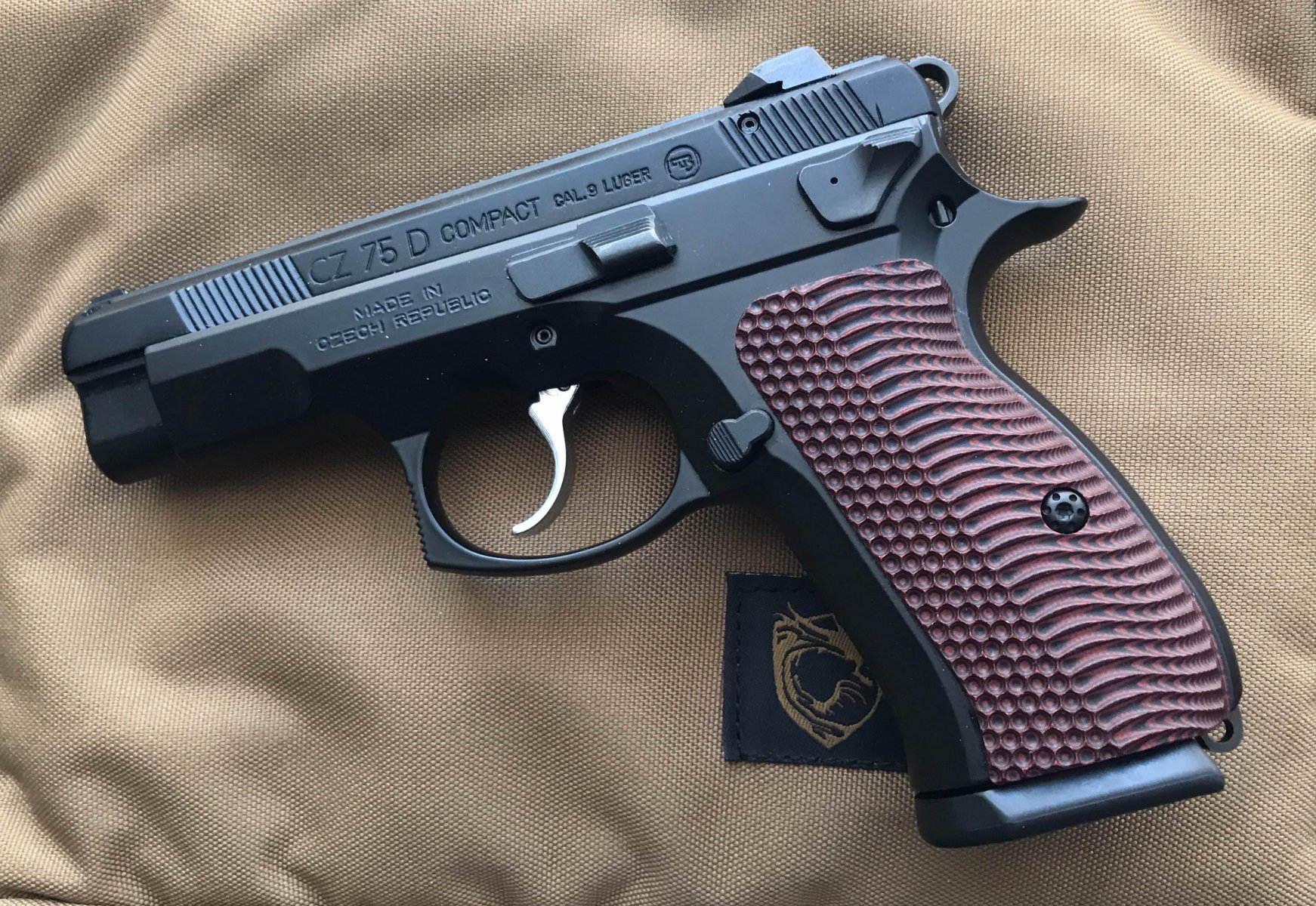 CZ 75D PCR Compact back from the Gun Shop