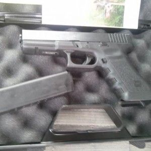 Glock 22 with TFO sites