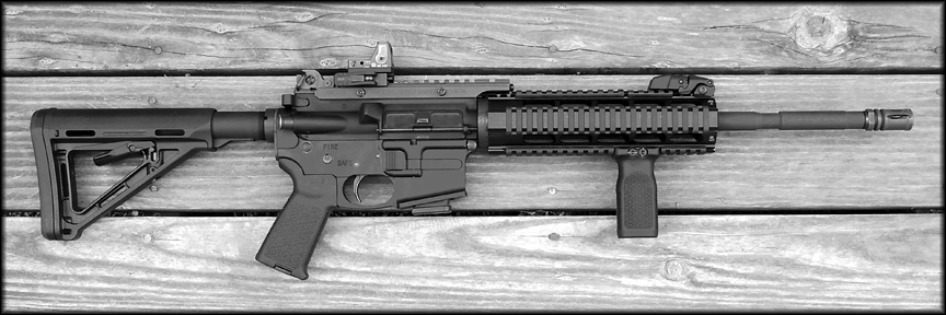 Lone Wolf G9 9mm Ar Style Carbine Uses Glock Mags Observations